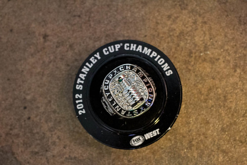 Stanley Cup replica ring : LA Kings