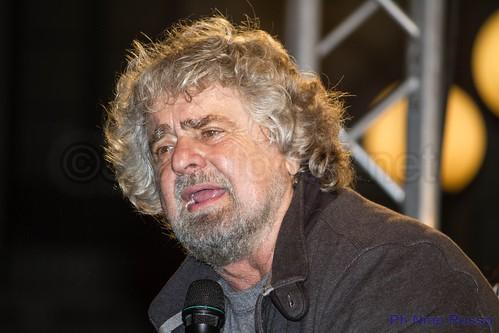 Beppe Grillo a Catania con un nuovo spettacolo$