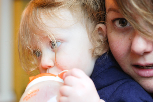 Myself - Sometimes by the end of the day with the energetic toddler, i feel a little shell shocked. #fmsphotoaday