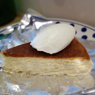 柚子のチーズケーキ。Bikiniの冬メニュー。