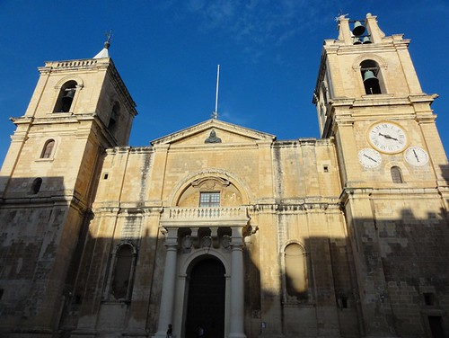 Exterior of St Johns Co-Cathedral Valletta