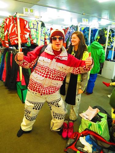 Dan's ski outfit