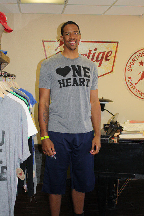 Channing Frye ONE HEART Shirt