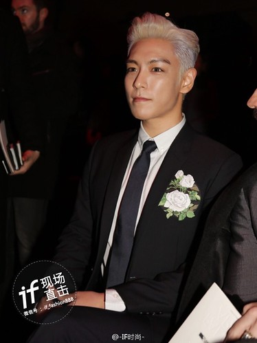 TOP - Dior Homme Fashion Show - 23jan2016 - IF时尚 - 04