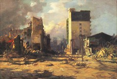 Amorsolo: Ruins on Rizal Avenue
