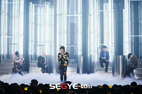 Big Bang - Mnet M!Countdown - 07may2015 - Segye - 02