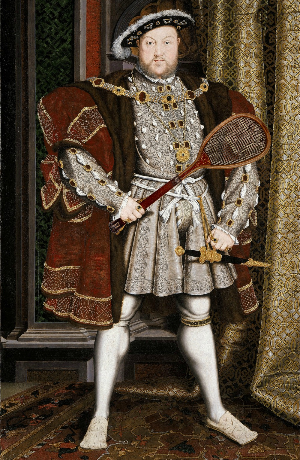 Henry VIII was a masterful tennis player