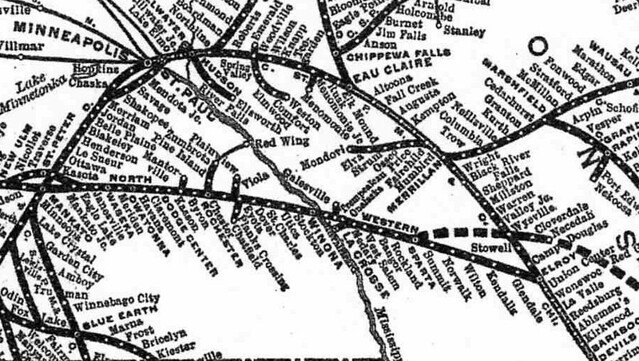 C&NW in 1908