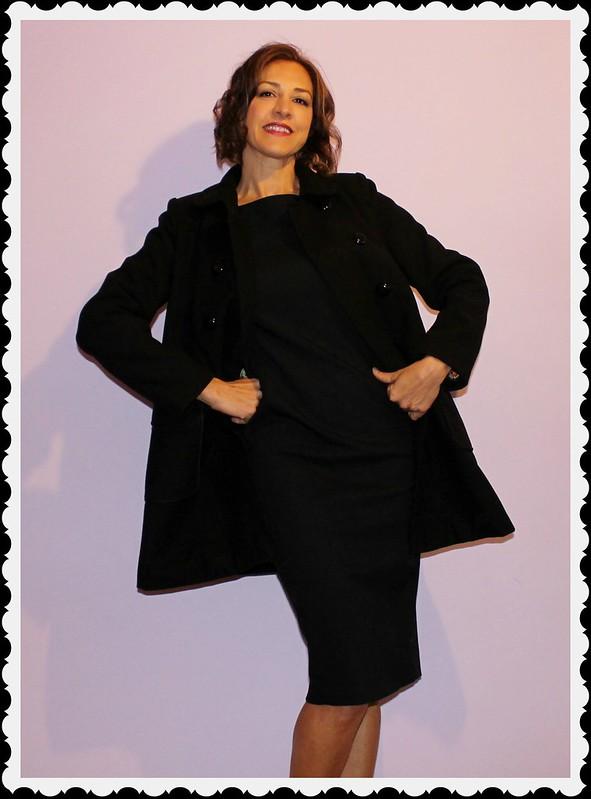 Abrigo negro t 030