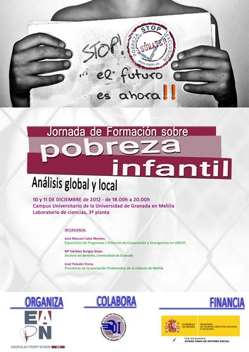cartel jornada pobreza infantil copia