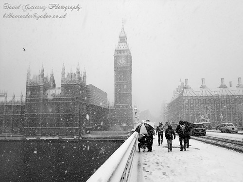Snow in London by david gutierrez [ www.davidgutierrez.co.uk ]
