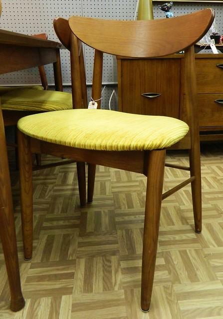 danish modern dinner chair by stanley