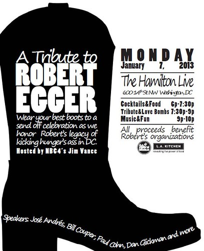 Robert Egger Tribute at The Hamilton