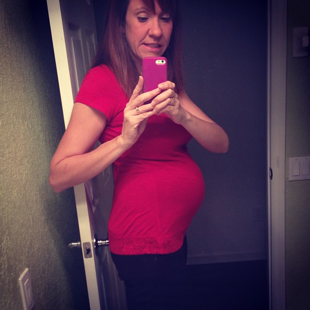 19 weeks. Yes, there only one in there.