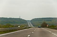 Sur l'A31 juste avant la frontière luxembourgeoise