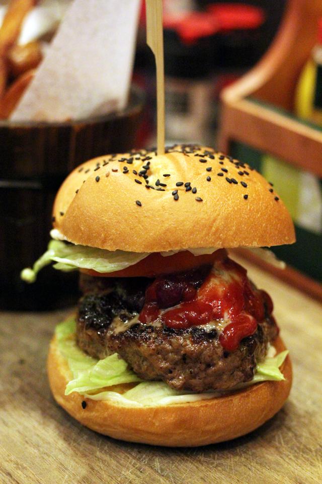Firehouse Burger Restaurant and Bar, Bangkok, Thailand