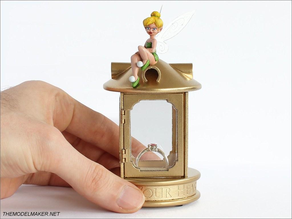 Tinker Bell Engagement Ring Box Themodelmaker
