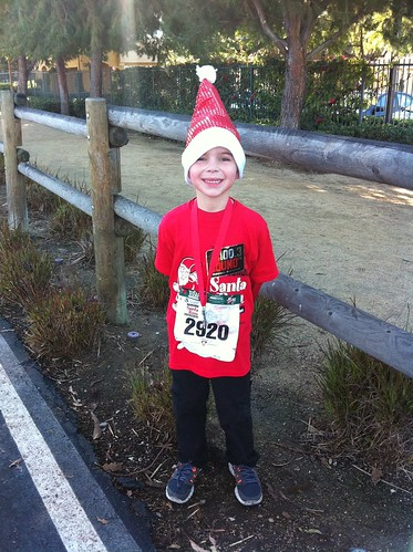 The kid post Renegade Santa Kid's Run 2012