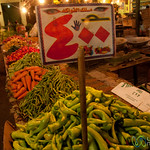 Piles of Vegetables at Hurghada's Market - Egypt