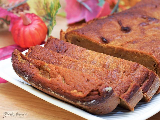 Gluten Free Sugar Free Pumpkin Bread