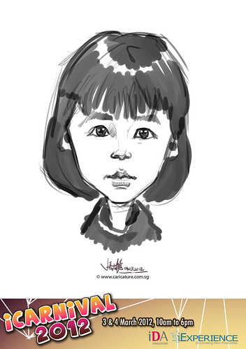 digital live caricature for iCarnival 2012  (IDA) - Day 2 - 41