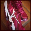 New running kicks? Don't mind if I do. #running #fitness #mizuna
