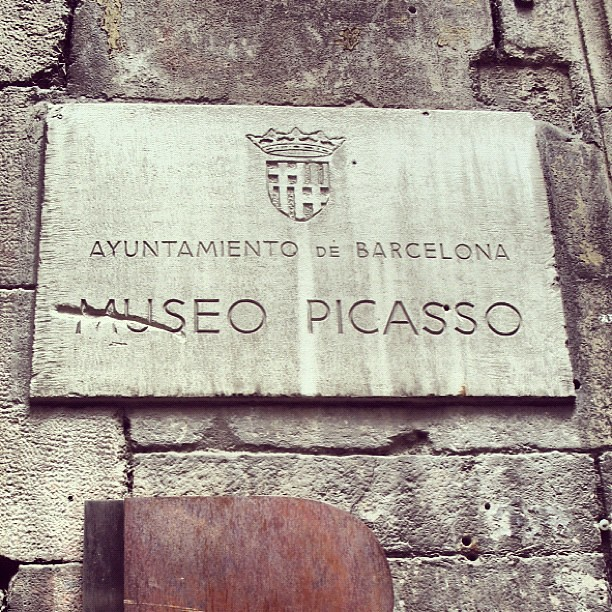 Picasso Museum #barcelona #spain #ART