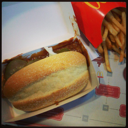 Finally, that itch is scratched! #McRib
