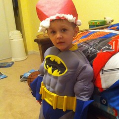 It's Batman Claus!