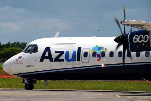 PRAQC - ATR 72-600 - AZUL Linhas Aéreas by GYN Online