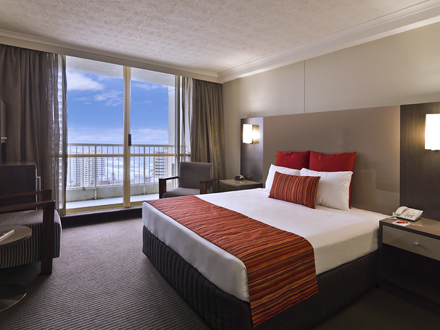 入住五晚 Hotel Grand Chancellor surfers paradise
