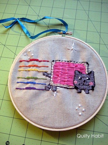 Nyan Cat Embroidery