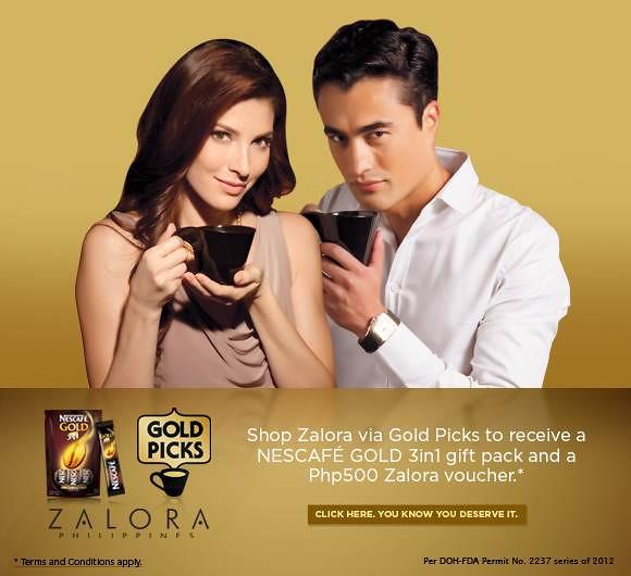 NESCAFE Gold Picks Zalora carousel banner ad