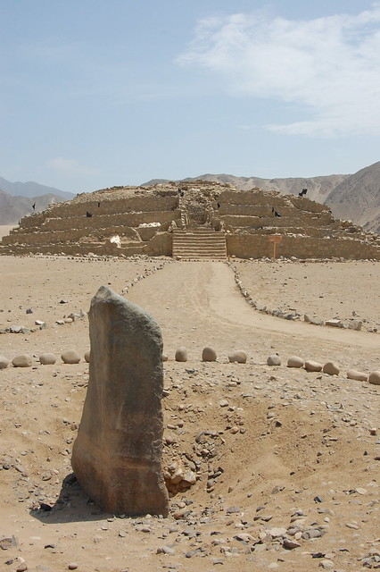 Geometrical Architecture at Caral