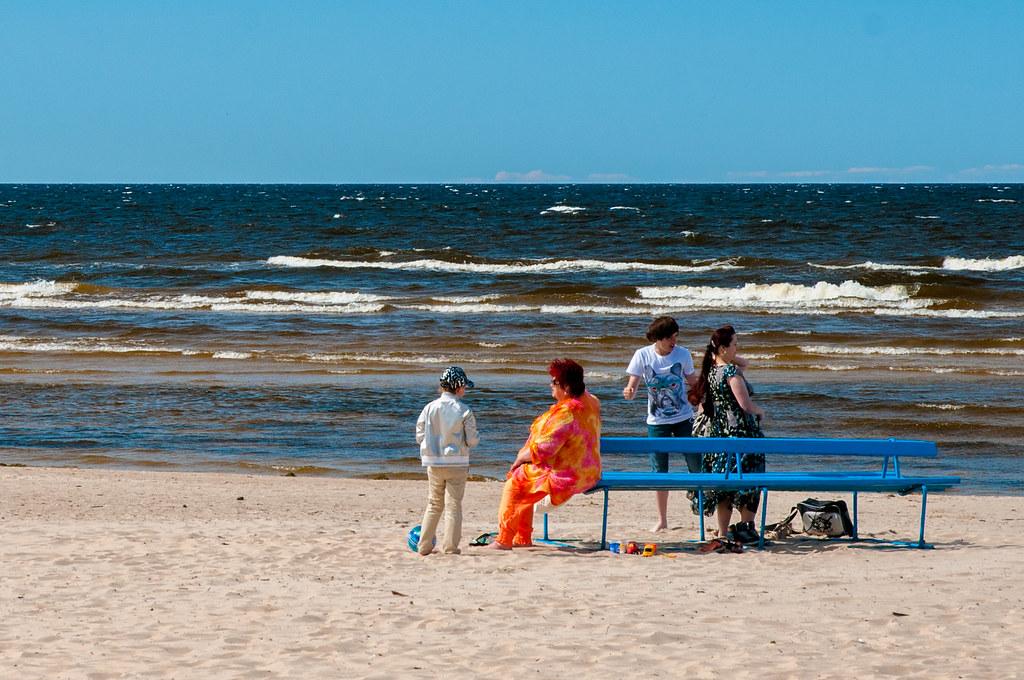 пляж Jurmala