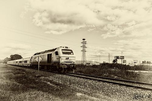 Tren1 by Bakalito (Antonio Benítez Paz)
