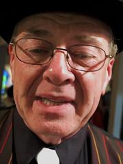 glasses, senior citizen, elder, person, portrait,