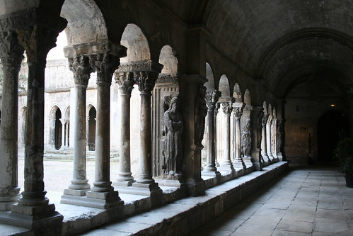 Cloister at Church of St. Trophime