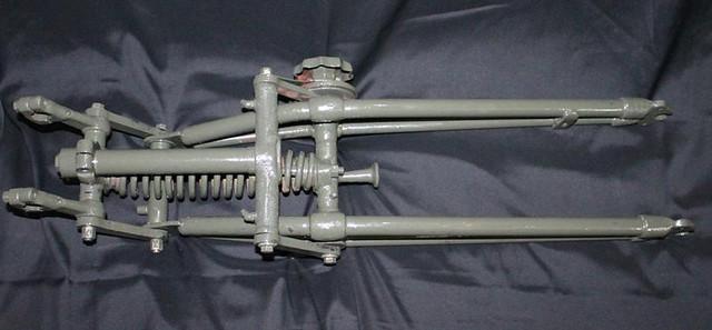 Discount Auto Parts Online >> BSA M20 500cc WWII WAR MILITARY FRONT END GIRDER FORKS SPRINGER BOBBER CUSTOM | eBay