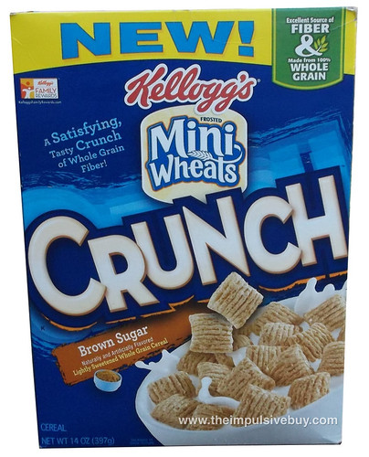 Kellogg's Mini Wheats Crunch Brown Sugar