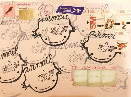 Mail art 365-286 front by Miss Thundercat