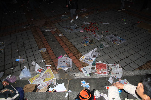 2013台北市跨年晚會垃圾-66-201301010102-賴鵬智攝