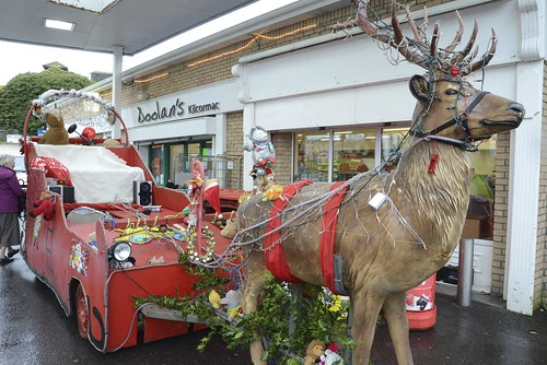 Ireland: Santa's sleigh