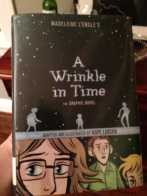 My First Book of The Year: A Wrinkle in Time - The Graphic Novel