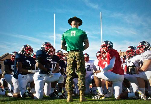 Marine Corps Huddle