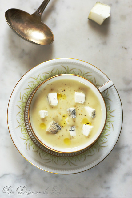 Crema di pastinaca, topinambur e mela
