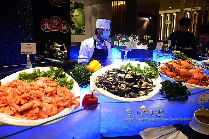 【高雄-左營】開業32年‧大八大飯店-TOP自助餐(晚餐buffet吃到