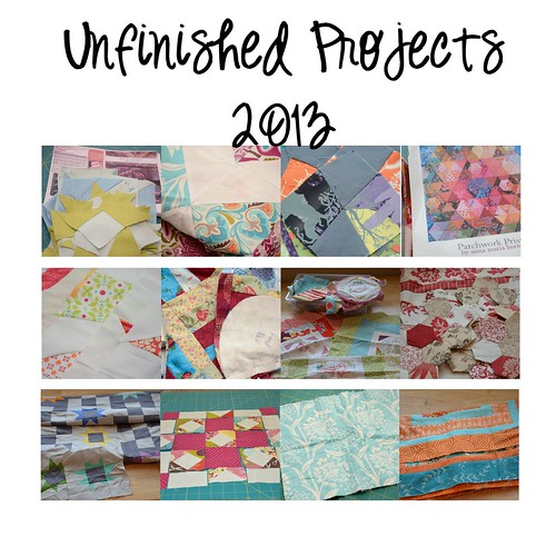 Unfinished Projects 2013