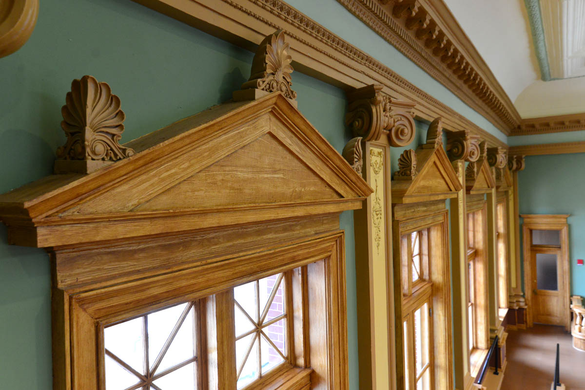 Courtroom detail