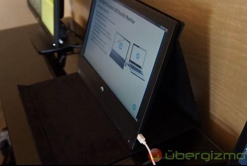 портативный монитор HP U160